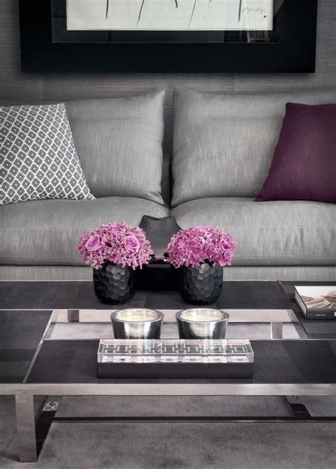grey pink living room home color grey pinterest