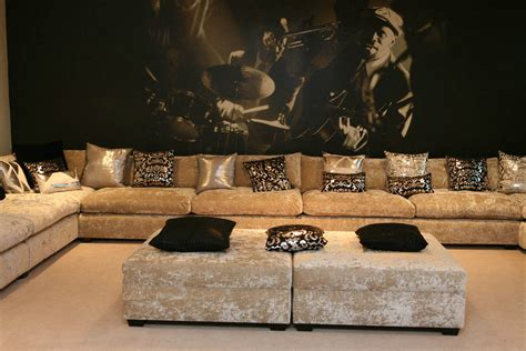 Contemporary Luxury Leather Sofas Set S3net Sectional
