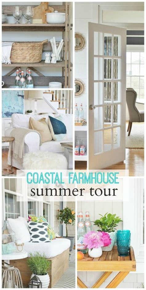 ideas  coastal farmhouse  pinterest coastal inspired curtains country living