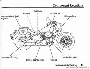 Honda Shadow Vt1100 Haynes Repair Manual For 1985 Thru