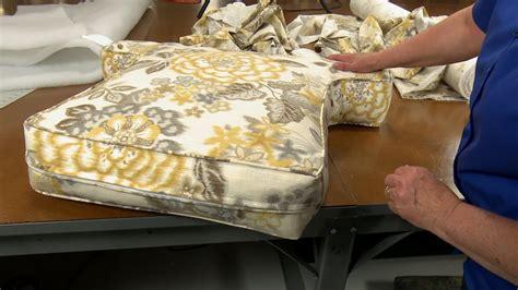 How To Make Armchair Cushions