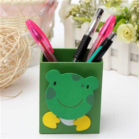 cute pen holder for desk buy cute animal pattern rectangle pen holder container