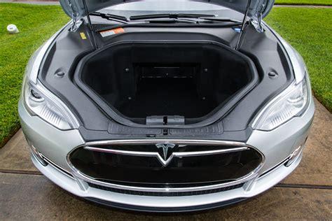 tesla inside hood review tesla motors all electric model s is fast but is