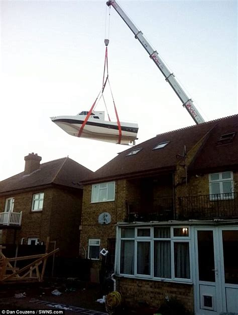 Boat Trailer Hire Kent by Kent And Spent Six Years Building 38ft Yacht In