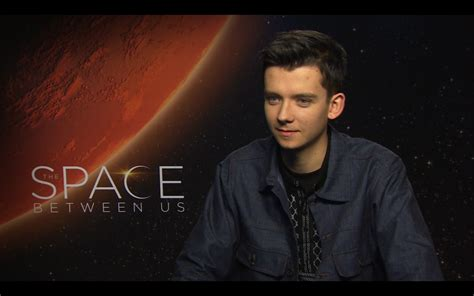 asa butterfield talks   space