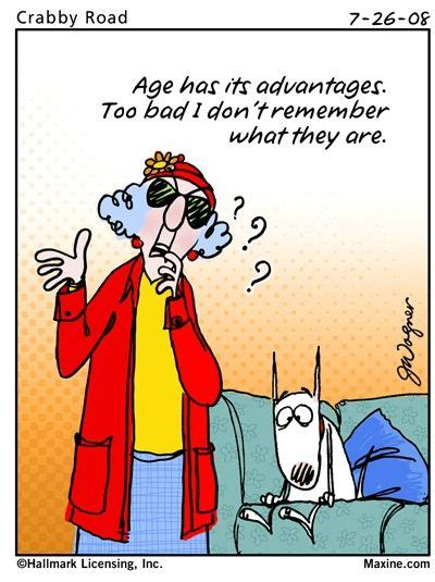 maxine cartoons   age maxine  witty aging quote