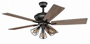 Vaxcel Lighting F0042 Clybourn 3 Light 52 Inch Ceiling Fan