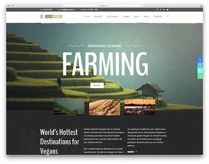 Farming Wordpress Theme Agriculture Themes Organic Colorlib