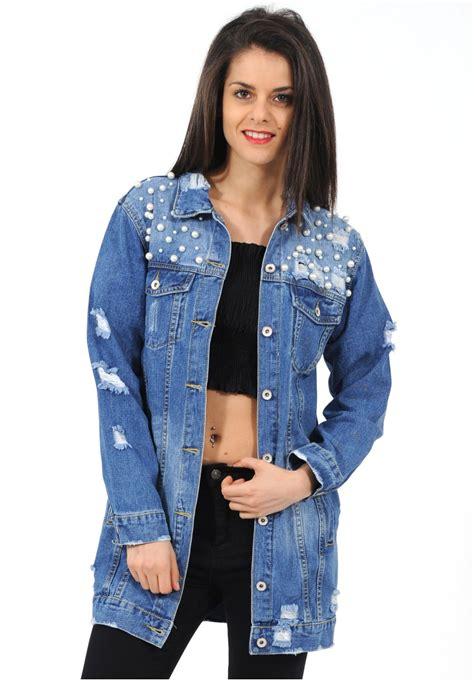 veste en jean troué veste en 224 perles