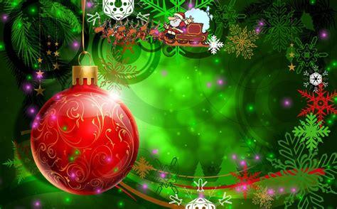Happy Christmas Animated Wallpaper