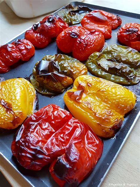 comment faire des poivrons grilles au  recette en