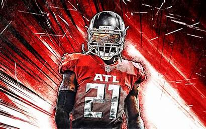 Falcons Gurley Todd Atlanta 4k Nfl Grunge