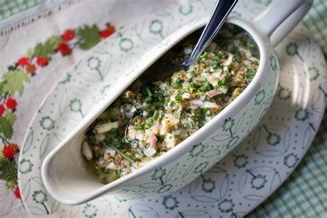 cuisiner la tete de veau sauce ravigote recette de la sauce ravigote pour