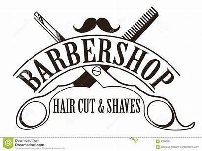 Barber Barbershop Cut Decal Logos Shutterstock Logotype