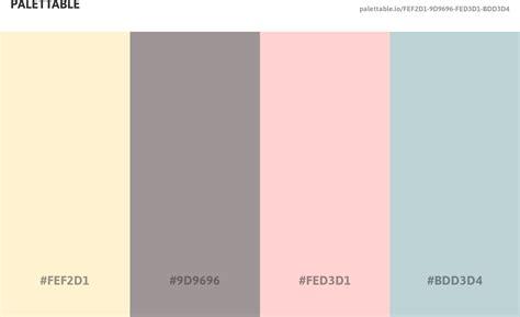 4 color palette colour scheme palette with 4 colour combination including