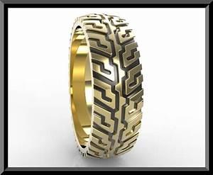tire tread wedding ring vidar jewelry unique custom With tire tread wedding ring