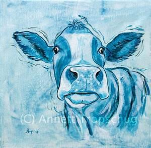 Blaue Kuh Magdeburg : original kuh leo acryl auf leinwand 30x30 cm zu kaufen ~ Watch28wear.com Haus und Dekorationen