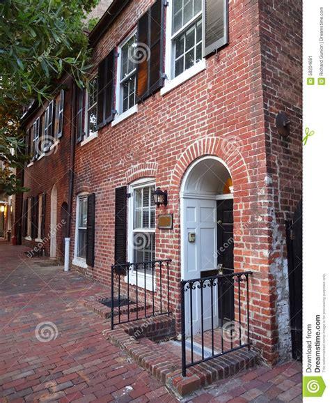 Red Brick Homes Stock Photo  Image 58204681