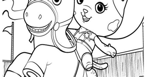 sheriff callie coloring pages printable sheriff callie sparky colouring pages