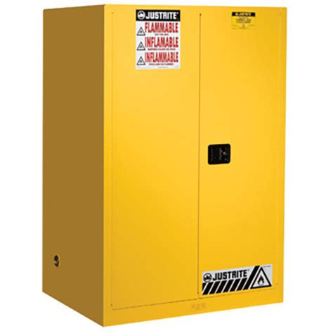 Justrite Flammable Cabinet 45 Gallon by Justrite 894500 Sure Grip Ex Flammable Safety Cabinet 45