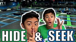 Hide And S : hide and seek in world 39 s largest trampoline park youtube ~ Frokenaadalensverden.com Haus und Dekorationen