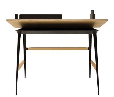 bureau bois noir bureau portable atelier moleskine tabouret bois noir
