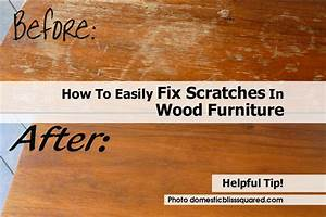 how to easily fix scratches in wood furniture With how to repair scratches in wood floors