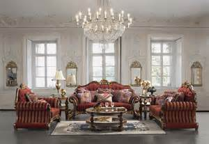 luxury upholstered formal living room furniture