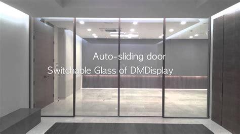 switchable glassfilm  auto sliding door youtube