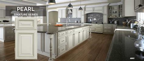 Tsg Cabinetry Signature Pearl by Kitchen Cabinets