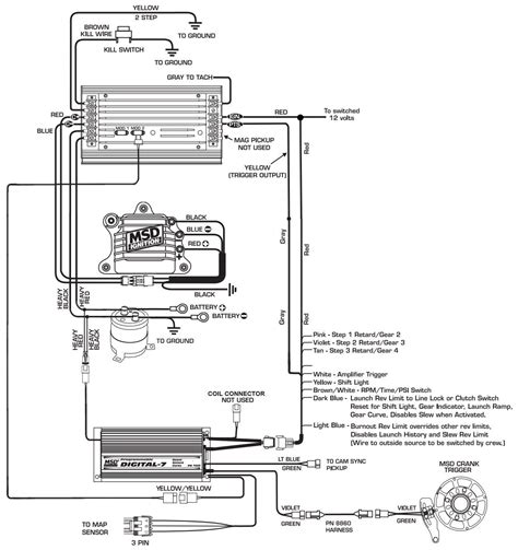 Msd Wiring Diagram Collection Sample