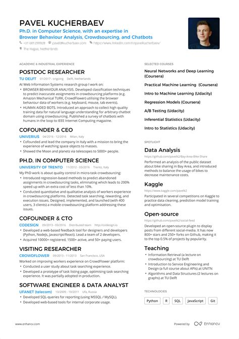 a powerful one page resume exle you can use