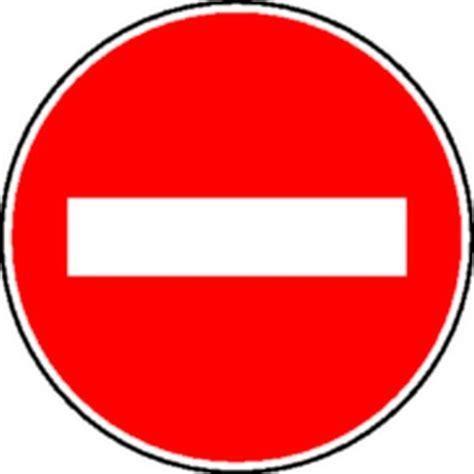 bureau des guides panneau sens interdit classe 1 stocksignes