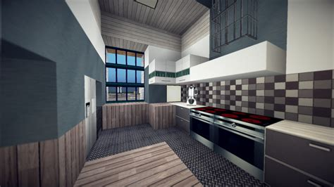 Minecraft Modern Kitchen Ideas by Urbancraft Official Ucp Texture Pack 128x128 Minecraft