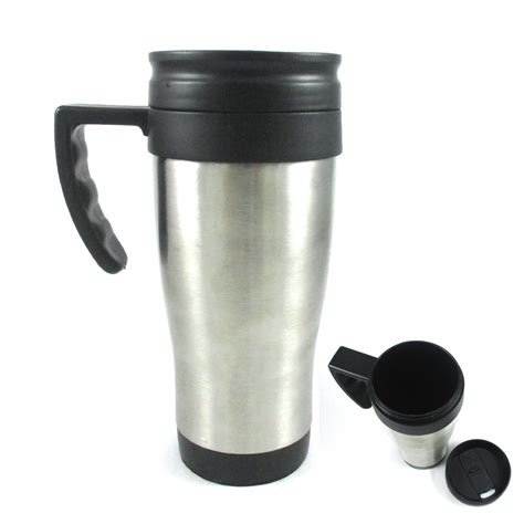 Stainless Steel Insulated Double Wall Travel Coffee Tea Mug Cup 16 Oz Thermos