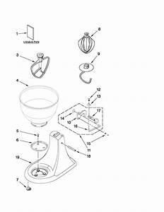 Kitchenaid Mixer Motor And Control Parts