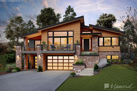 Contemporary House Plan 1220L The Louisville: 2707 Sqft, 4 ...