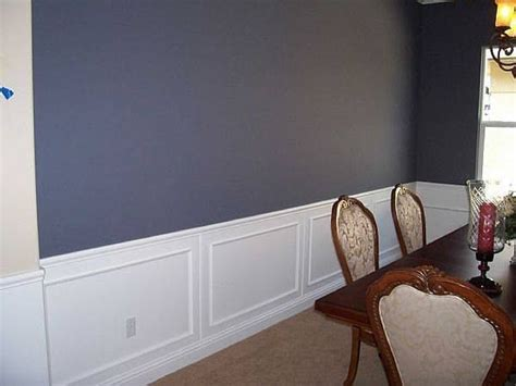 How To Put Up Chair Rail Molding (with Pictures) Ehow