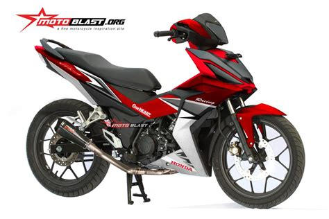 Supra Fit New Road Race by Modifikasi Honda Supra Gtr150 Ala Road Race Motoblast