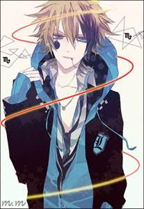 Cool Guy Anime Boy