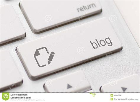 Blog Enter Key Stock Images