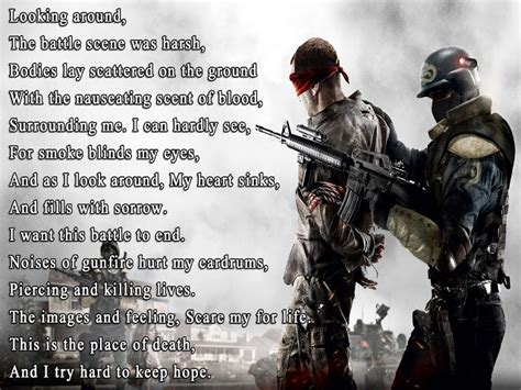 war short poem  famous author  wallpaper poetry likers