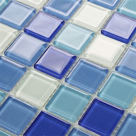 wall kitchen tiles glass mosaic tile backsplash blue glass tile 3316