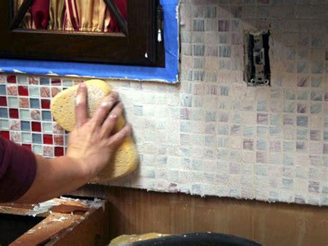removing kitchen tile backsplash installing a tile backsplash in your kitchen hgtv 4710