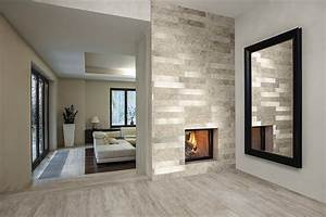pierre naturelle murs deco id carrelage With deco salon mur pierre