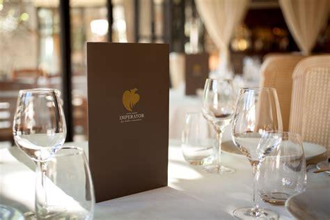 la cuisine proven軋le a nîmes le restaurant gastronomique de l 39 imperator baigne dans la provence