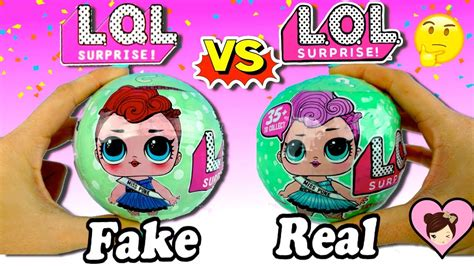 fake lol surprise dolls  real lol youtube
