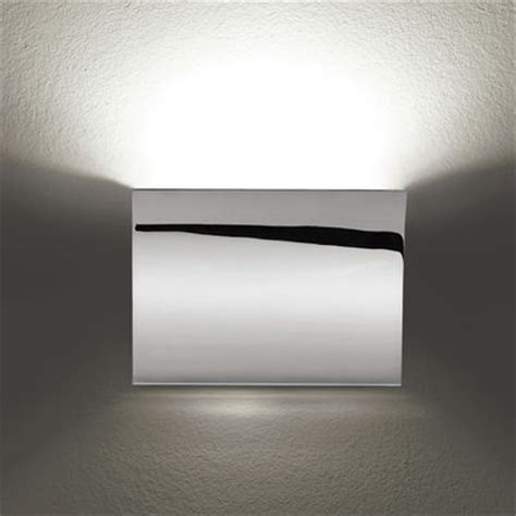 pochette up wall light chrome by flos
