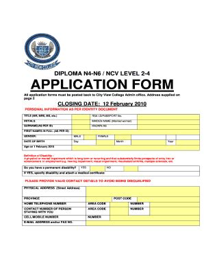 rostec college application form  fill
