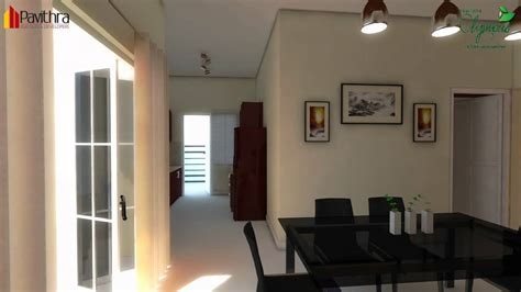 Pavithra Builders Olympus 3 Bhk Apartment Interiors Youtube